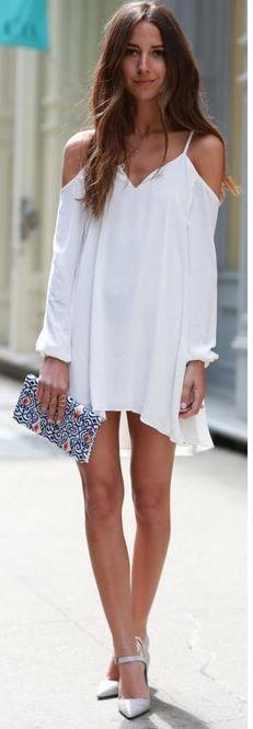 yazlik beyaz mini elbiseler 2015