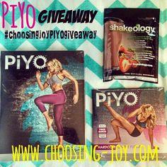Choosing Joy PiYo GIVEAWAY!!!! #choosingjoyPIYOgiveaway