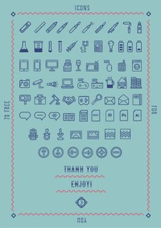 #Pictograms Giveaway Reloaded http://www.webdesign.org/friday-freebies-from-behance.22369.html