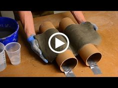 ShapeCrete :: Make it Thin! Quick and Easy - YouTube