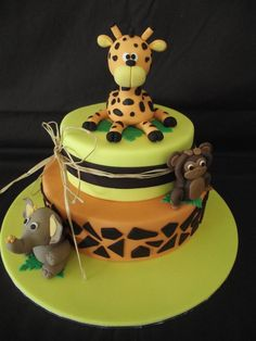 giraffe cake- would be so cute!