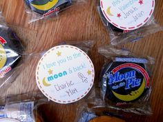 """I love you to the moon and back!"" Free printable Valentine!"