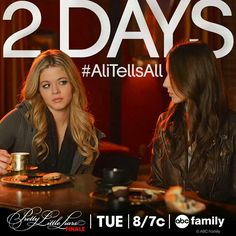 2 Days!! :-D #AliTellsAll! ♥