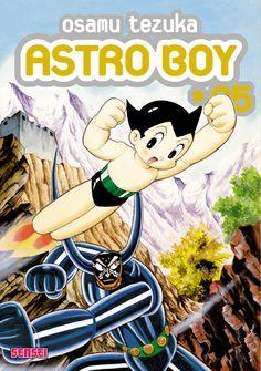 """Tome 5 d'Astroboy paru chez Kana, avec l'épisode """"le robot le plus fort du monde"""", avec Pluto. SF, robot."""