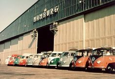 Hamburg Airport was a heavy barndoor user back in the early fifties.