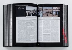 The book contains a wide range of scans of original articles from architecture publications, along with mainstream newspapers and magazines. Above: <i>Architectural Record</i> article about the Middle East as a new client.