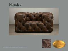 Chesterfield 1 zits bank</br>Hauxley 1 Old Look Bruin