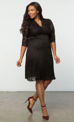 7f53bfb692d Scalloped Boudoir Lace Dress