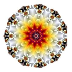 'Autumn Glow' kaleidoscope