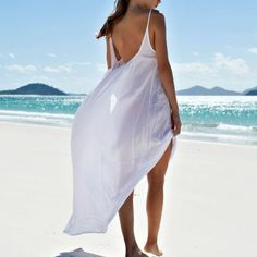 7f6a46858ef38 Size 1 Mikoh Biarritz Maxi Dress Beach Cover Ups, Cruise Wear, White Maxi  Dresses