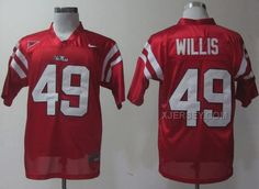 http://www.xjersey.com/ole-miss-rebels-49-patrick-willis-red-jerseys.html Only$37.00 OLE MISS REBELS 49 PATRICK WILLIS RED JERSEYS #Free #Shipping!