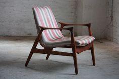 Engaging Folke Ohlsson Danish Mid Century Modern Teak Lounge Chair for Dux (Denmark, 1960s) | Flickr - Photo Sharing!