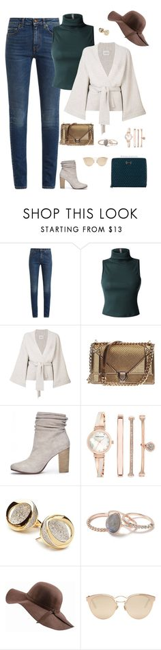 """""""Casual Chic"""" by stylebyshannonk ❤ liked on Polyvore featuring Yves Saint Laurent, LE3NO, Le Kasha, Christian Dior, Chinese Laundry, Anne Klein, ANTONINI, Miss Selfridge, N'Damus and Tod's"""