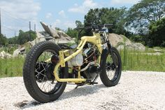 Matt Fuller is a supermoto and flat-track veteran from Land O' Lakes, Florida. We recently featured his Virago XV250 cafe racer, and now Matt is back with another XV build, this time a Virago 250 [...]