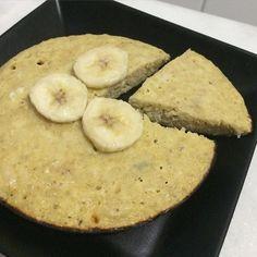 Ceia: Panqueca de aveia com banana. Ficou suuuper fofinha  #90diasemequilíbrio by oucaseucorpo http://ift.tt/1X6RVJw