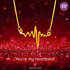 Valentine's day gift or just a special gesture to see her face light up! Here's a pendant to let her know that she's your heartbeat. View more: http://bit.ly/2l3EEAz  #WhpLovesLovers