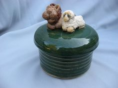 lion and lamb jar on etsy!      This is adorable!