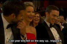 Jennifer Lawrence's 19 Best Moments At The Oscars