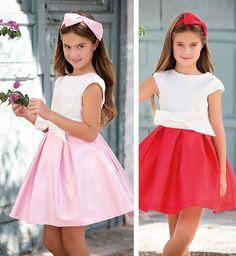 Tienda Moda Mascotas infantil y juvenil Little Dresses, Flower Girl Dresses, Baby Girl Fashion, Tween, Kids Outfits, Party Dress, Tulle, Wedding Dresses, Hair Styles