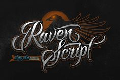 Raven Script from FontBundles.net