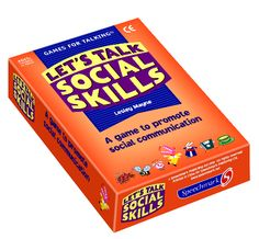 Let's talk social skills cards,a game to promote social communication.