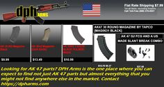 From SKS Mags to AK 47 parts, there is nothing that DPH Arms does not offer, and those too at the most effective prices in town you could have ever expected. Visit https://dpharms.com