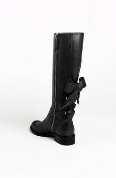 Very pretty black boots.