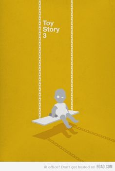Toy Story 3 ~ Minimal Movie Poster by Conor Whelan Toy Story Series, Toy Story 3, Toy Story Party, Disney Minimalist, Minimalist Poster, Disney Toys, Disney Art, Kids Graphic Design, Print Design