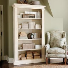 Chris reads so much I think there's going to have to be a book case in the bedroom. This one is not too deep. #bookcase #white $699.95