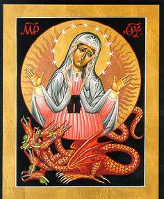 Our lady of the Apocalypse