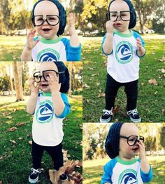 If my friend, Heather Madonia, ever produced an offspring, this would be it. #children with swag