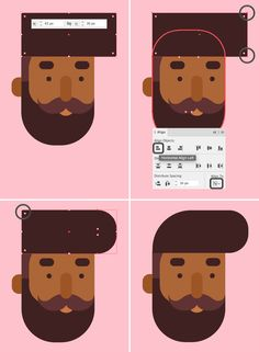 How to Draw a Flat Designer Character in Adobe Illustrator