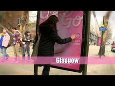 Mr Kipling Cake-To-Go Dispenser built-in to Bus Stop in London, Birmingham, Glasgow, Manchester, Nottingham and Sheffield.