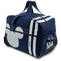 Mickey Mouse Rolling Duffle - Walt Disney World | Disney StoreMickey Mouse Rolling Duffle - Walt Disney World - Pack-up for a getaway weekend or the big game in this roomy duffle-bag with rolling luggage features. Collegiate style art and our famous Mickey icon lets everyone know you play at Walt Disney World.