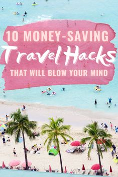10 Ways To Save Money While Traveling Ways To Travel, Best Places To Travel, Travel Tips, Travel Hacks, Travel Guides, Travel Destinations, Oahu Vacation, Visit Hawaii, Visit Mexico