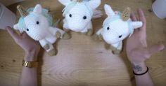 Bébé licorne: après le tutoriel de la licorne, découvrez le tutoriel bébé licorne.