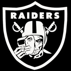 Free oakland raiders logo american football club from the for Oakland raiders logo coloring page