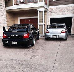 His & hers Tuner Cars, Jdm Cars, Subaru Impreza, Wrx Sti, Super Fast Cars, Street Racing Cars, Life Car, Car Memes, Import Cars