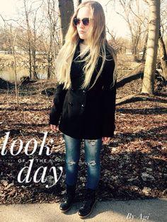 ~ L o o k of t h e D a y ~ Da das Wetter heute wieder sooo schön war, bin ich mit meinen Freund spazieren gegangen und habe Bilder gemacht. Einer meiner Hobbys ☺️ wie findet ihr den Look? • Mantel ~...