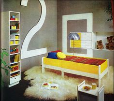 Junior Sleep Pod No. 2 From the Practical Encyclopedia of Good Decorating and Home Improvement.