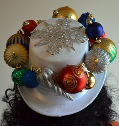 Ugly Christmas HatOrnament HatChristmas Ornament by BeholdThatHat, $25.00