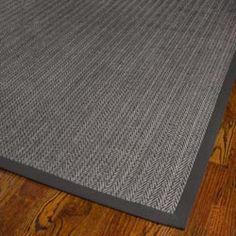 Hand-woven Natural Fiber Uni Grey Fine Sisal Rug (4' x 6') | Overstock.com Shopping - Great Deals on Safavieh 3x5 - 4x6 Rugs