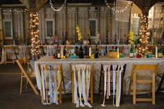 Memphis Farmer's Market Wedding Keep wine bottles from date night to use as decor for your wedding!