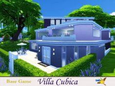 The Sims Resource: Villa Cubica by evi • Sims 4 Downloads