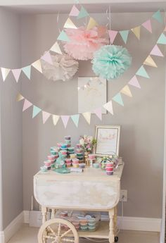 Marigold Mom | Magical Pink, Gold & Mint Unicorn Birthday Party
