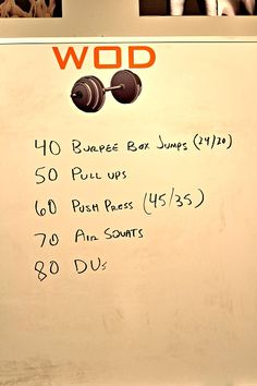 Peanut Butter Runner | I RX'd my first double under WOD and it took FOREVER!