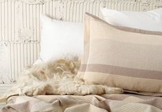 $140 JOINERY - Woven Cotton Bedding - LIVING