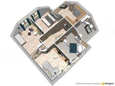 Zdjęcie projektu Noelia Modern WOK1073 Bungalows, Home Decor, Modern, Projects, Interior Design, Bungalow, Home Interiors, Decoration Home, Bungalow Homes