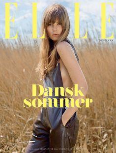 Caroline Brasch Nielsen by Sean McMenomy for Elle Denmark August 2015 cover
