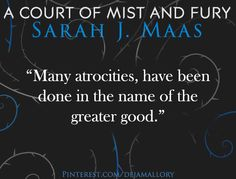 (dejamallory)Quotes from A Court of Mist and Fury by Sarah J. Maas ACOMAF #book #quotes #bookquotes P.S. The original photo contain a different quote so I just replaced it
